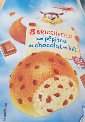 Briochettes aux pépites de chocolat au lait - Produit - fr
