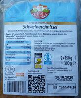 Schweineschnitzel - Produkt - de