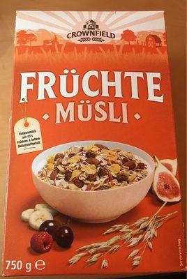 Früchte - Müsli - Product