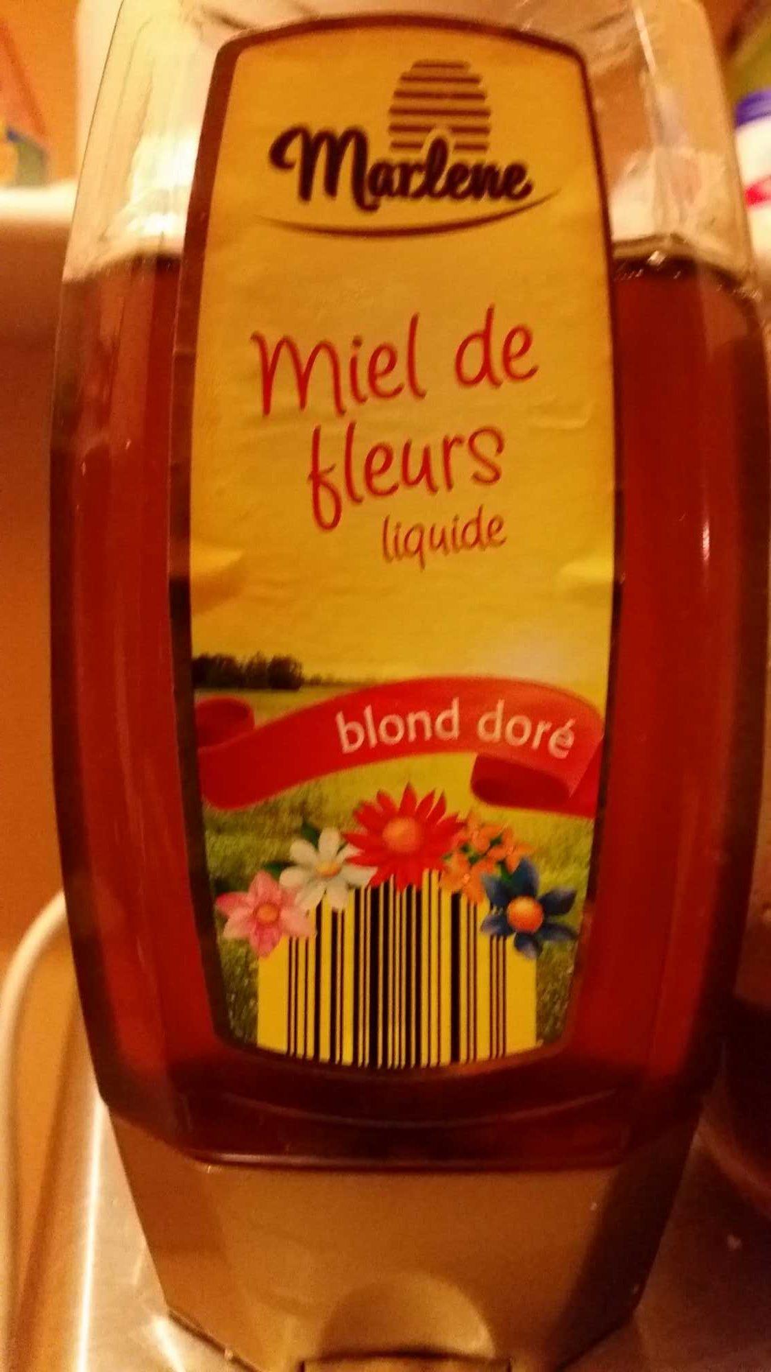 Miel de Fleurs Liquide blond doré - Product