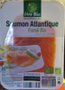 Saumon Atlantique fumé bio - Product