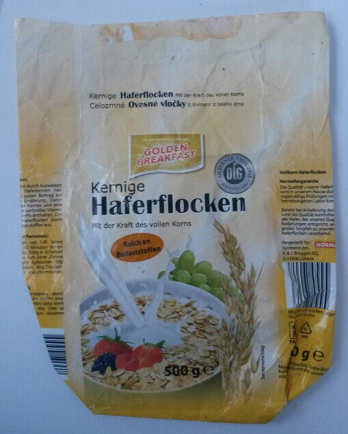 Kernige Haferflocken - Product - de