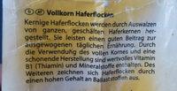 Kernige Haferflocken - Ingrediënten - de