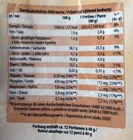 Kernige Haferflocken - Voedingswaarden - de
