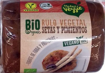 Rulo vegetal Setas y pimientos - Producte