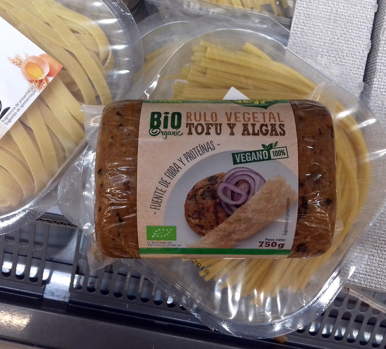 Rulo vegetal tofu y algas - Producte - es