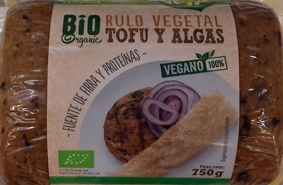 Rulo vegetal Tofu y algas - Product