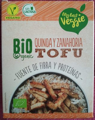 Tofu Quinoa y Zanahoria Bio