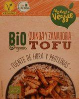 Tofu Quinoa y Zanahoria Bio - Produit