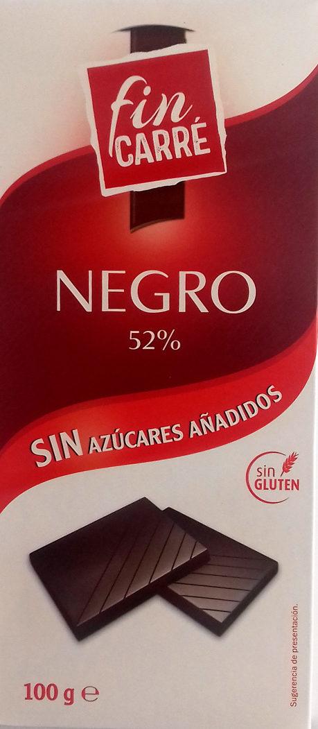Chocolate negro 52% - Product - es