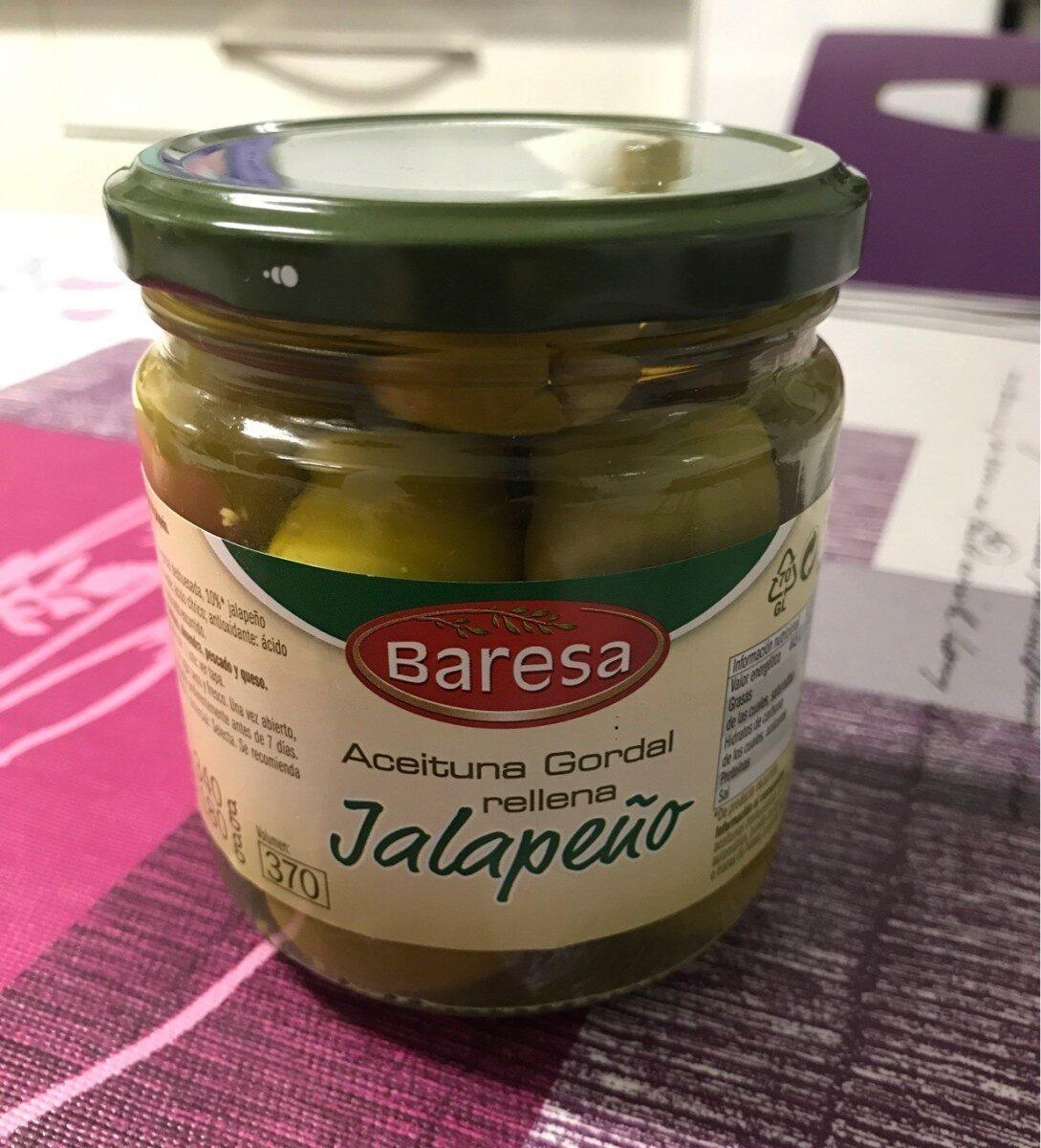 Aceituna gordal rellena jalapeño - Product