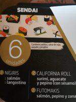 Sushi - Produit - es