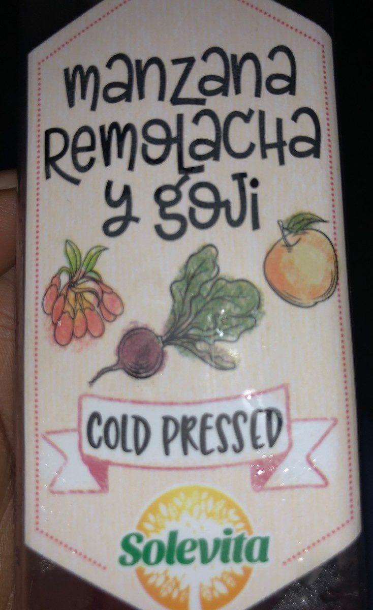 Manzana remolacha y goui - Product