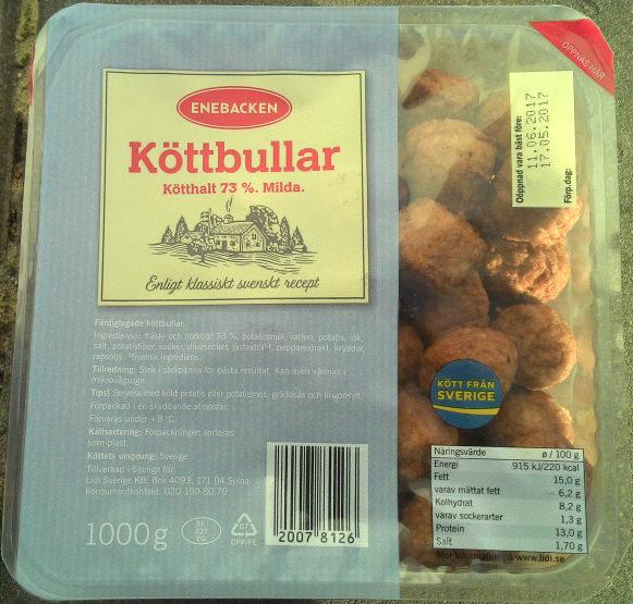 Enebacken Köttbullar - Produit - sv