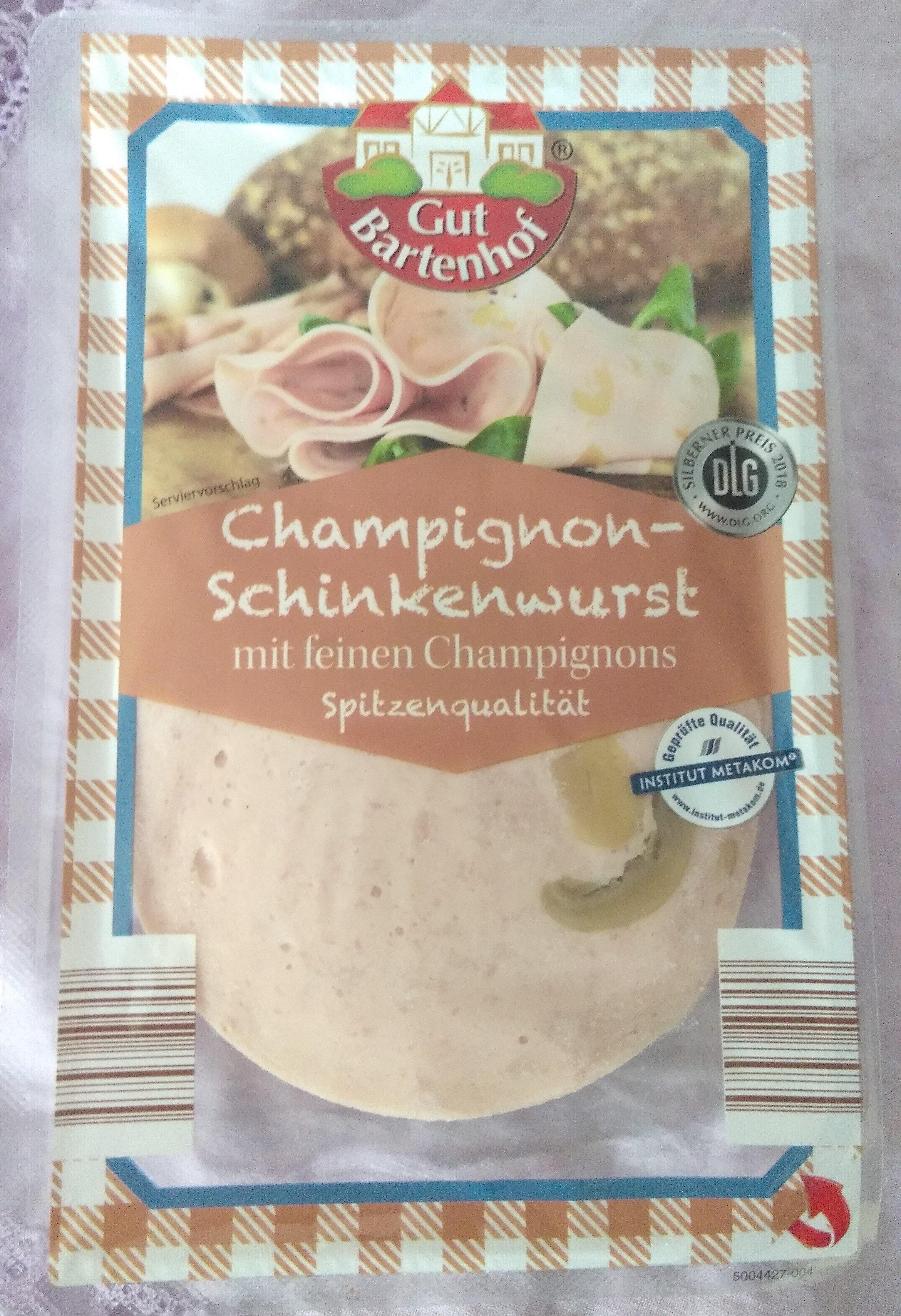 Champignon-Schinkenwurst - Product