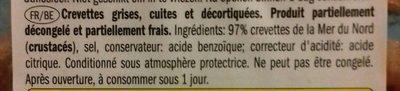 Krabben - Ingrediënten - en