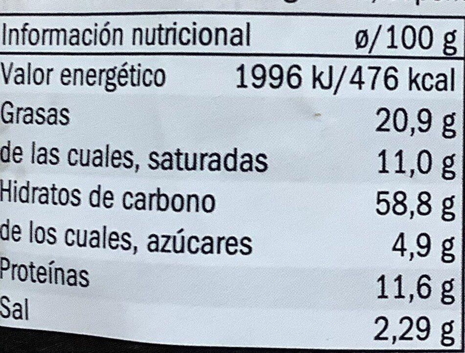 Zartes Lachsfilet - Informations nutritionnelles - de