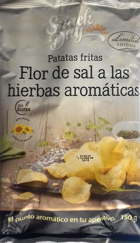 Patatas fritas flor de sal a las hierbas aromáticas - Produit - es
