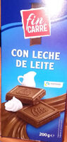 Chocolate con leche - Produit