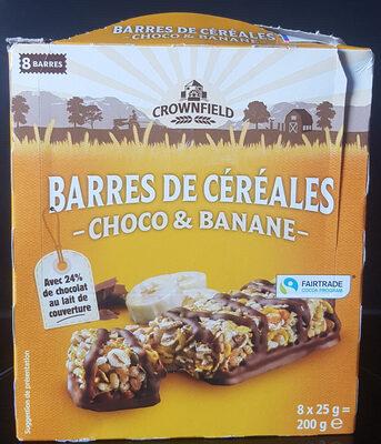 Barres céréales Choco & Banane - Produkt - fr