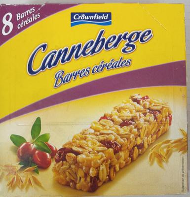 Barres céréales canneberge - Produit - fr