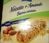 Barres de céréales Noisette + Amande - Product