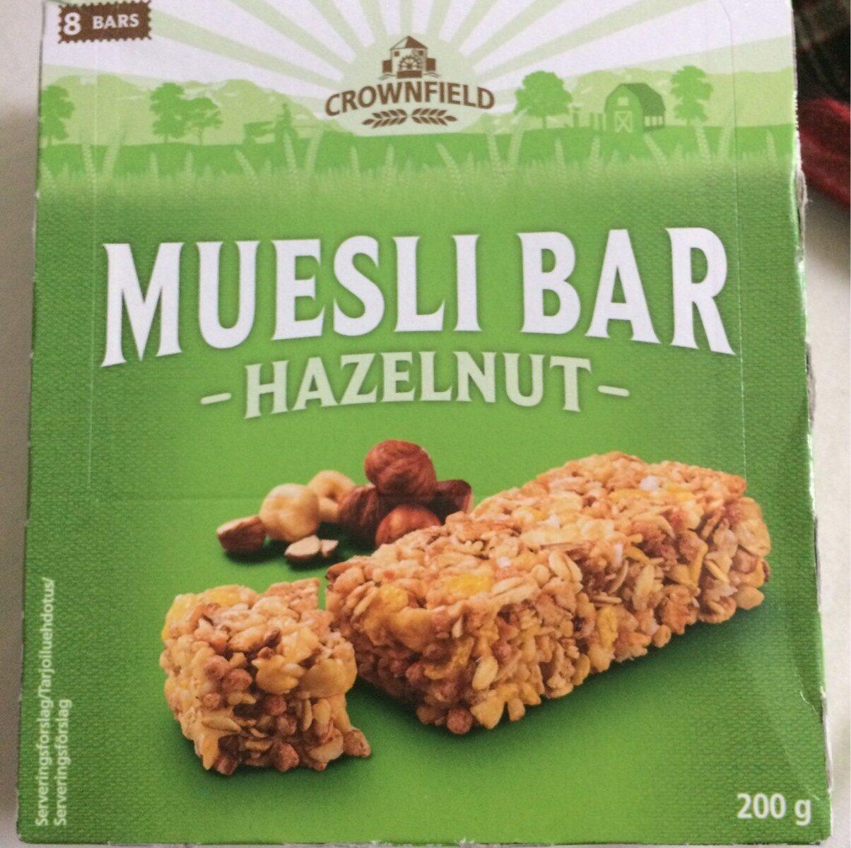 Barres de céréales Noisette - Product