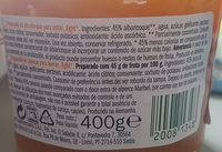 Préparation d'abricots allégée - Ingredientes - fr
