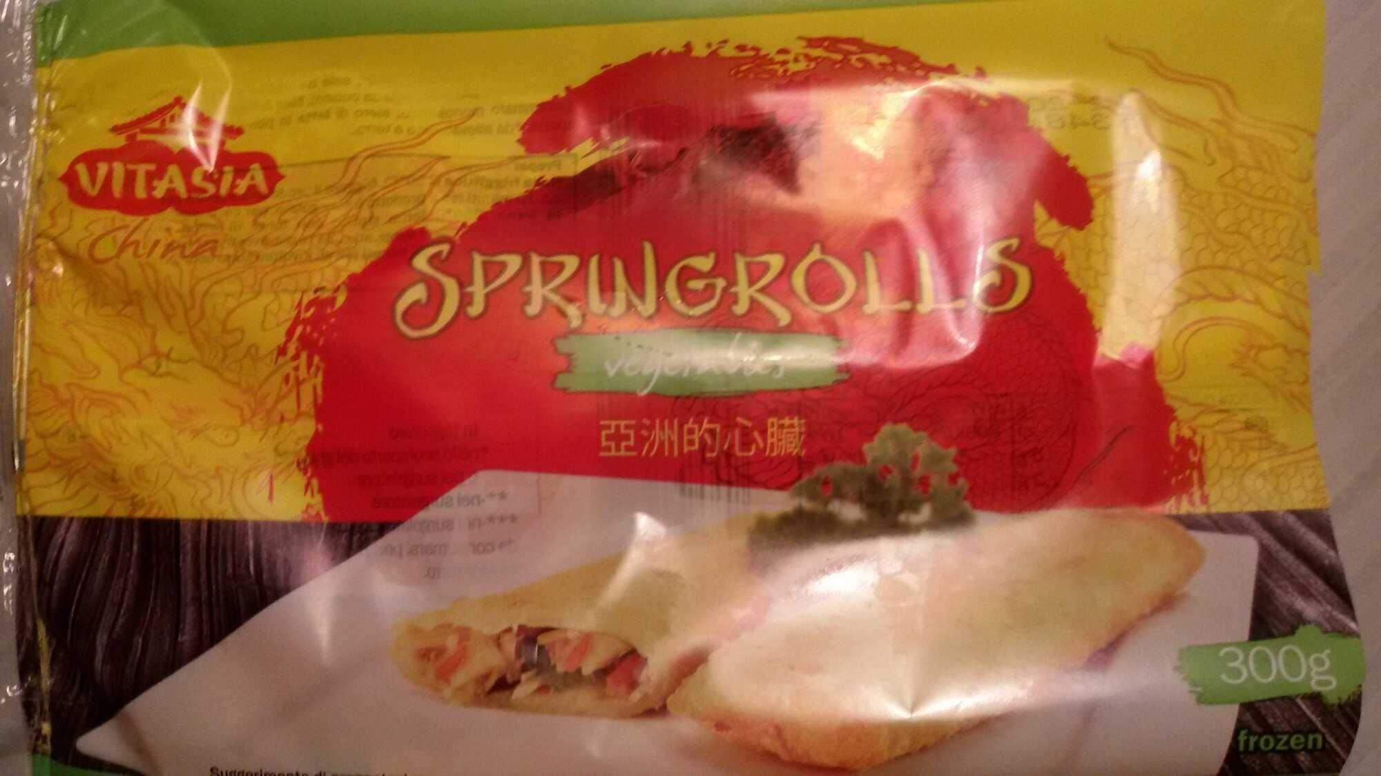 Springrolls - Vitasia - 300 g - Prodotto