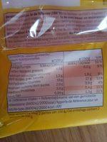 Springrolls - Vitasia - 300 g - Informazioni nutrizionali