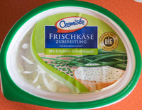 Frischkäsezubereitung mit frischem Schnittlauch - Product - de