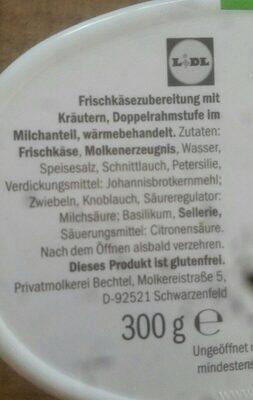 Goldessa Kräuter - Ingrediënten