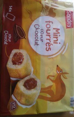 Mini fourrés cœur chocolat - Produit