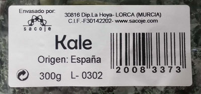 Kale - Ingrédients