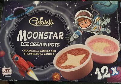 Moonstar ice cream pots - Product