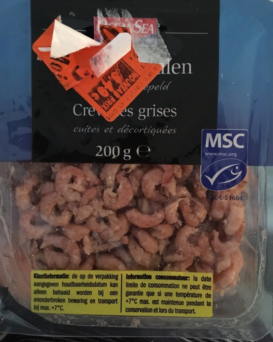 crevettes grises - Product - fr