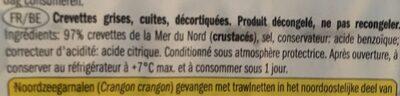 crevettes grises - Ingrediënten - fr