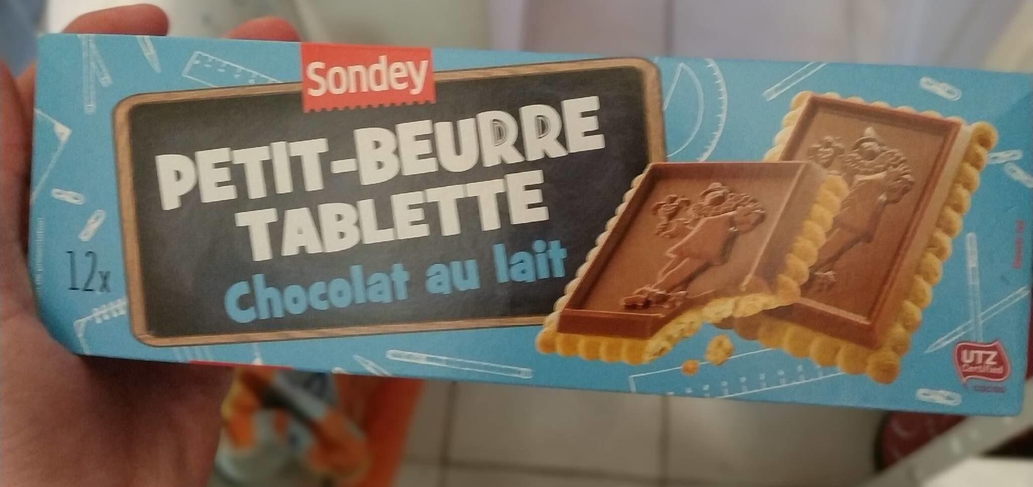 Petit beurre tablette chocolat au lait - Product