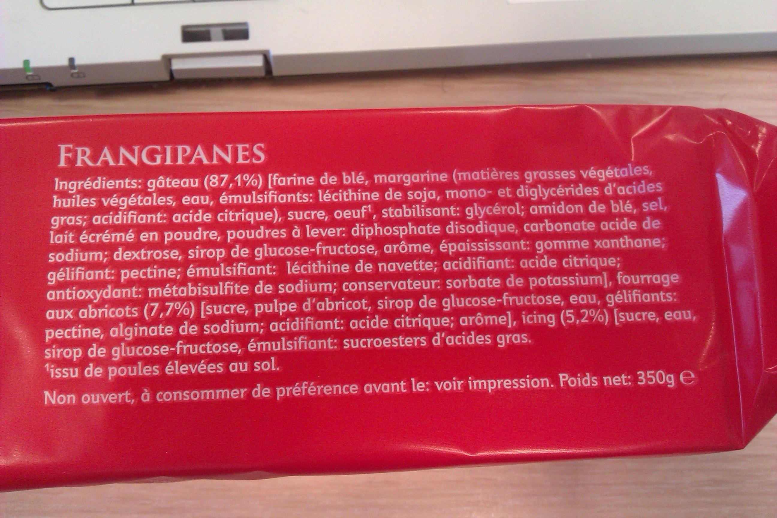 Frangipanes - Product