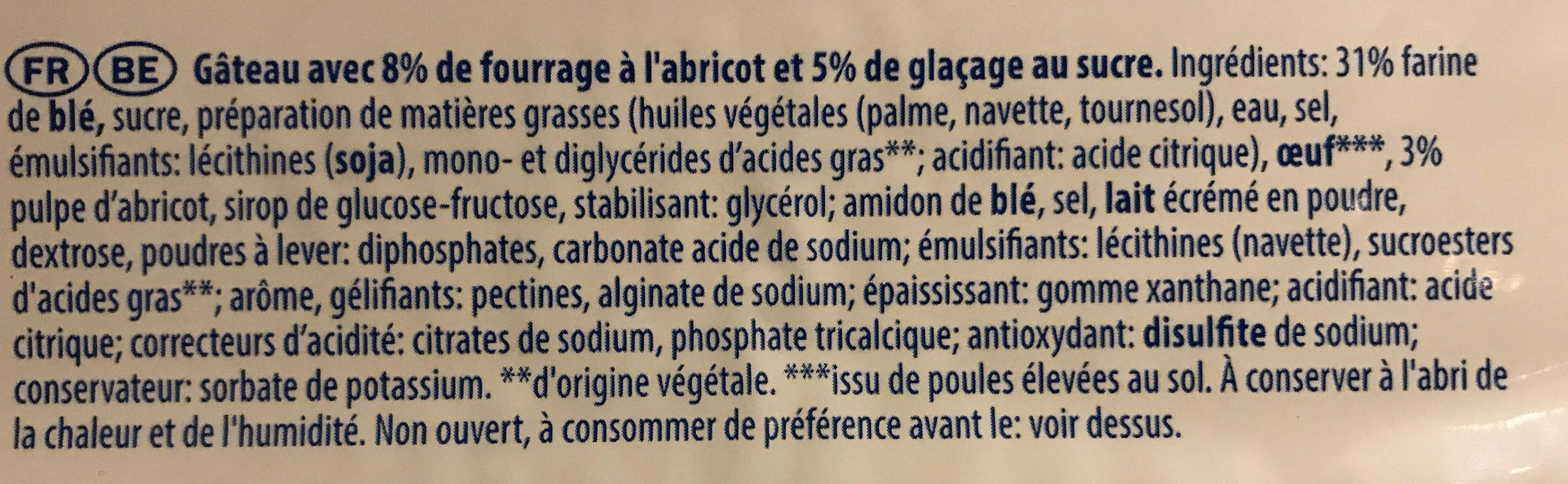 Frangipanes - Ingrediënten - fr