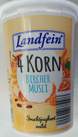 Jogurt mild mit Burcher Müsli-Zubereitung 3,5% Fett - Product - de