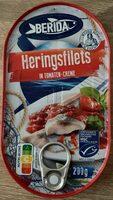 Heringsfilets in Tomaten-Creme - Produit - de
