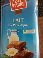 Lait du pays alpin - Product - fr