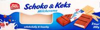 Schoko & Keks Milchcreme - Produkt