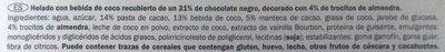 Gelatelli Kokosmilcheis - Ingredientes
