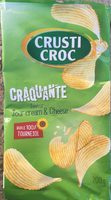 Craquante saveur sour cream & cheese - Product