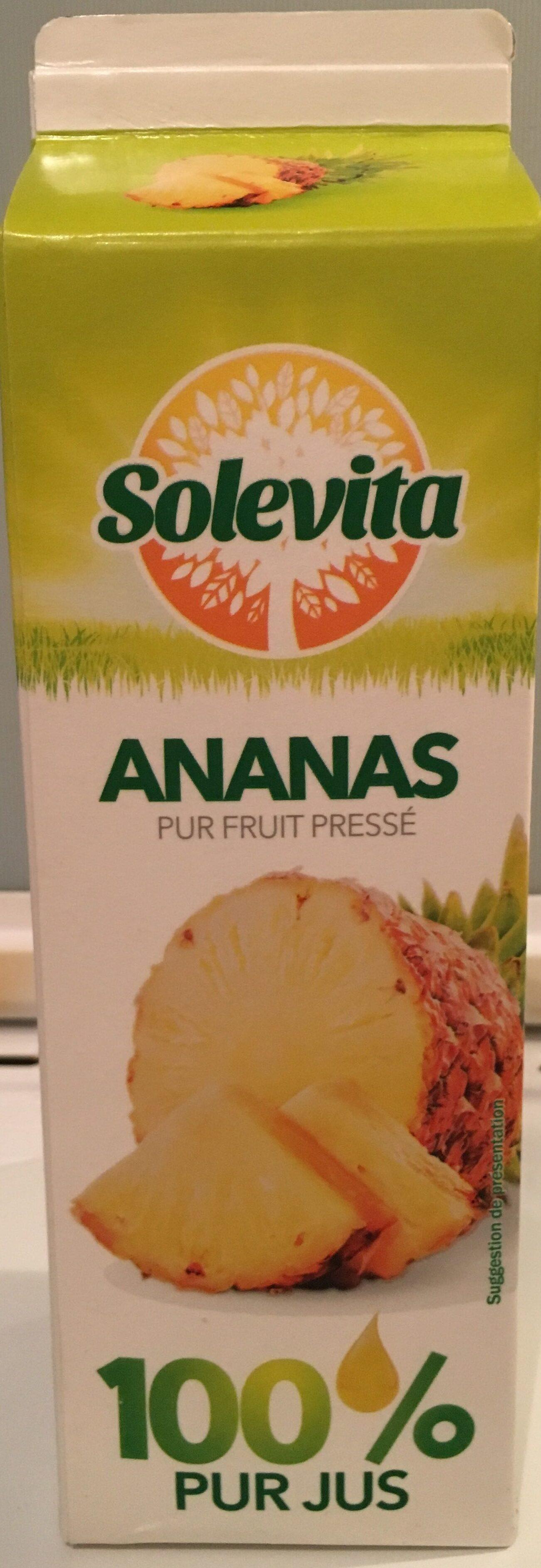 Ananas 100% pur jus - Produkt - fr