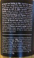 Honey & thyme mustard - Informazioni nutrizionali - de