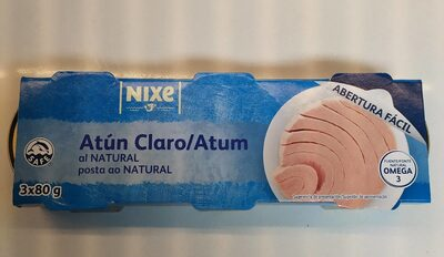 Atún claro al natural - Product - fr