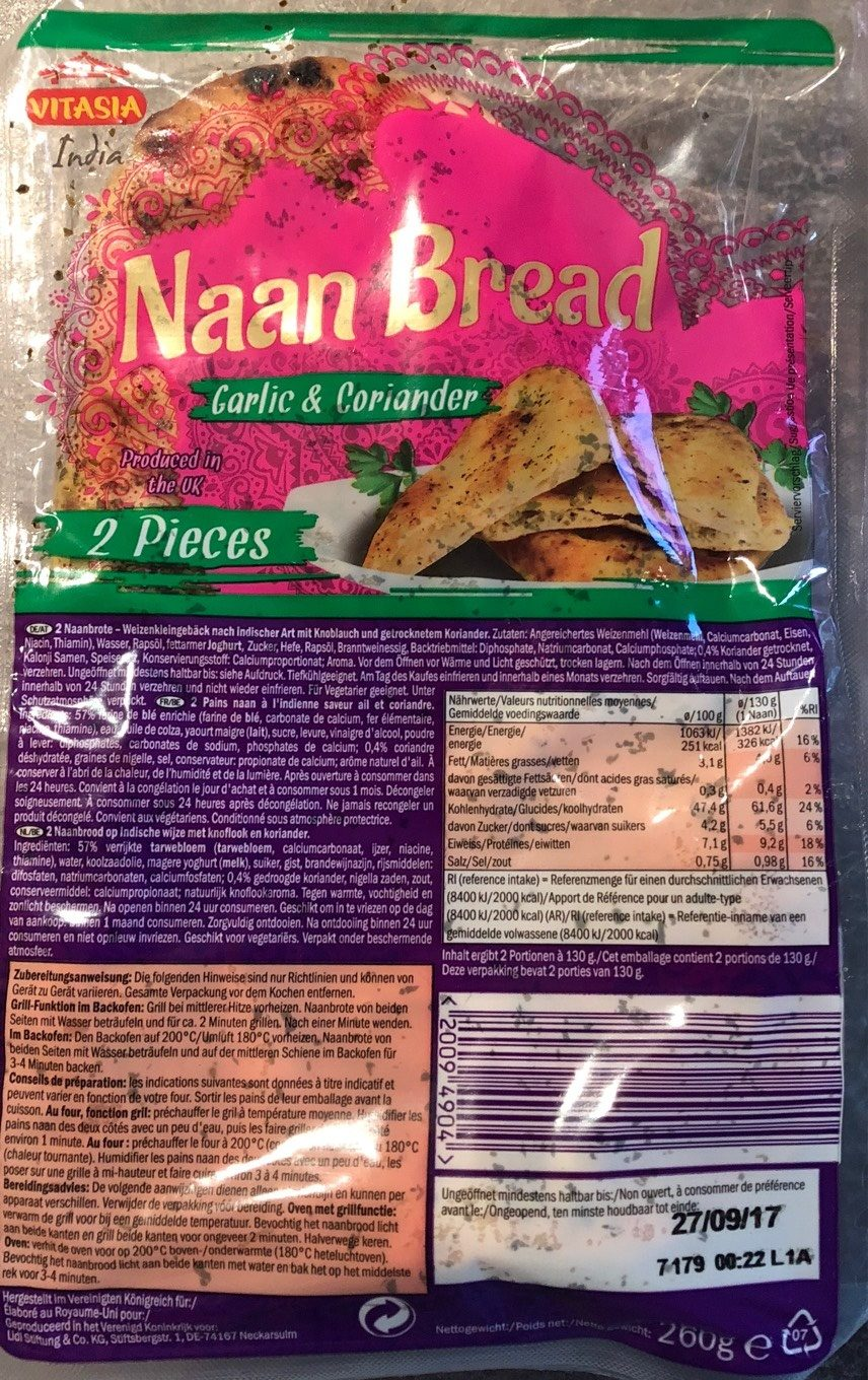 Naan Bread - Product
